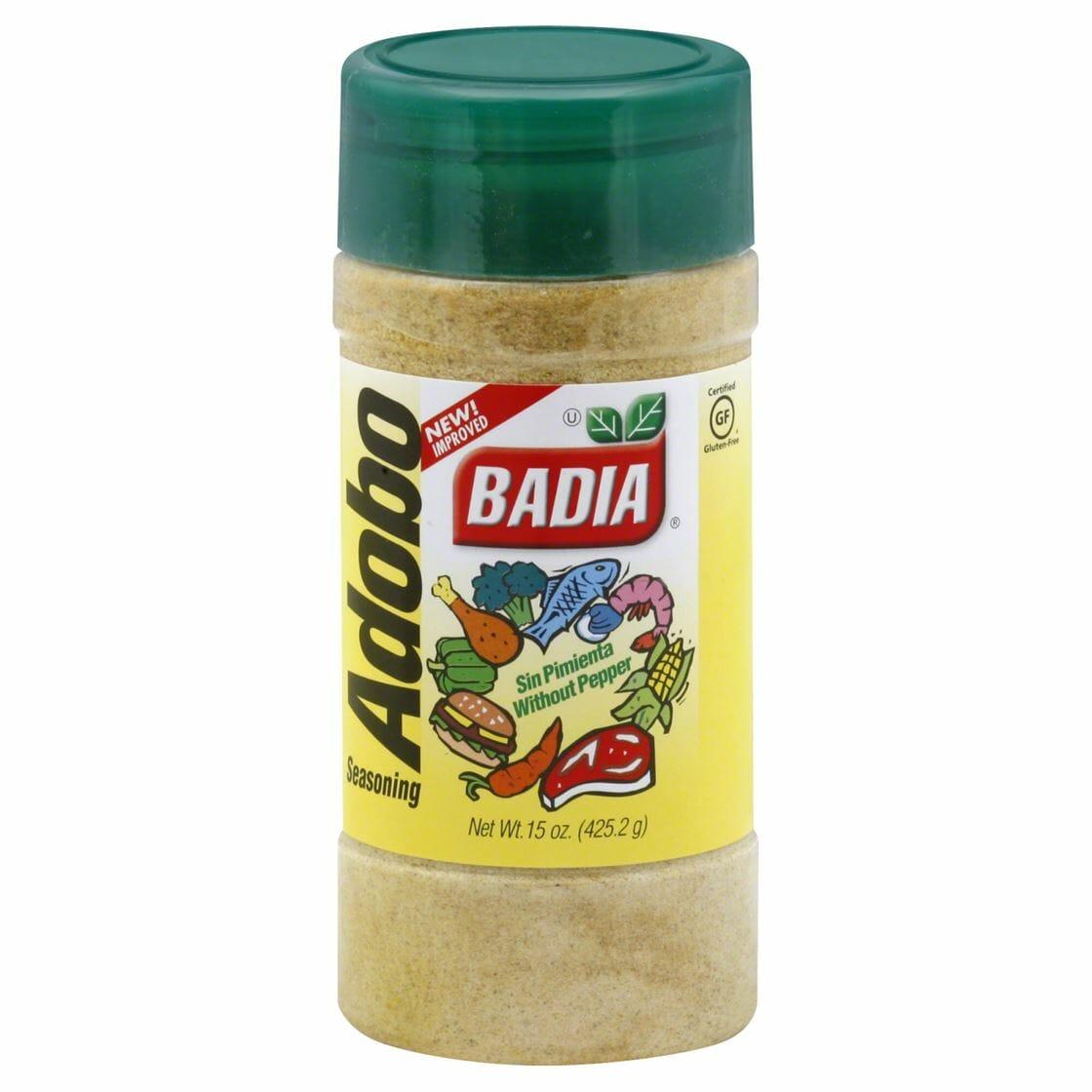 Badia Adobo W/O Pepper 15oz