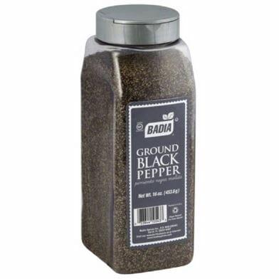 Badia Black Pepper Grnd 16oz