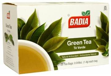 Badia Green Tea 25ct