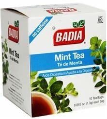 Badia Mint Tea 10ct