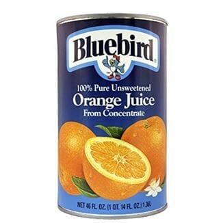 Bluebird Orange 12/46oz CS