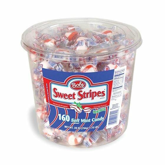 Bobs Sweet Stripes 28oz 160ct