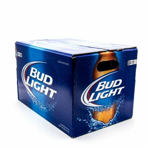 Bud Light Beer 24/12oz CASE