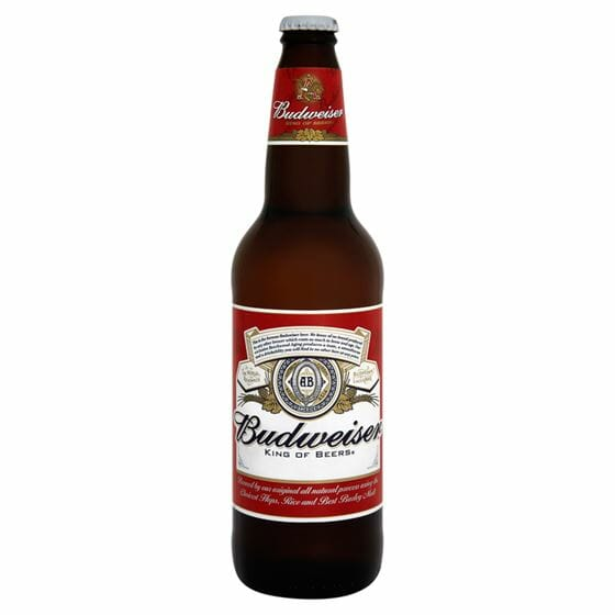 Budweiser Beer 12oz EACH
