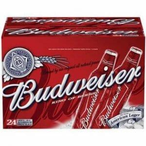 Budweiser Beer 24/12oz CASE