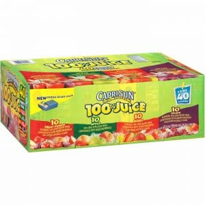 Capri Sun 100% Juice Var 40PK