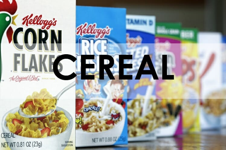CEREAL/BREAKFAST