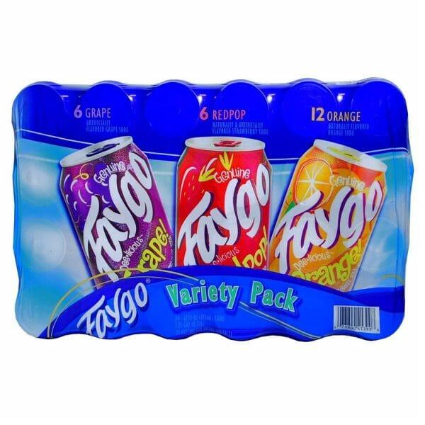 Faygo Soda 24/12oz VP Cans