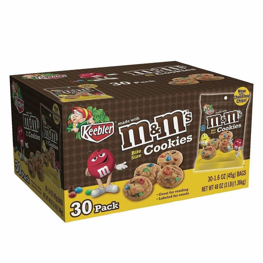Keebler M&M Cookies 30ct
