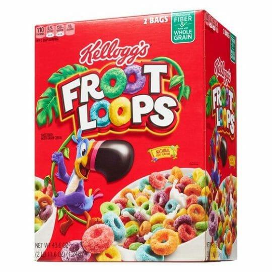 Kelloggs Froot Loops 43.6oz