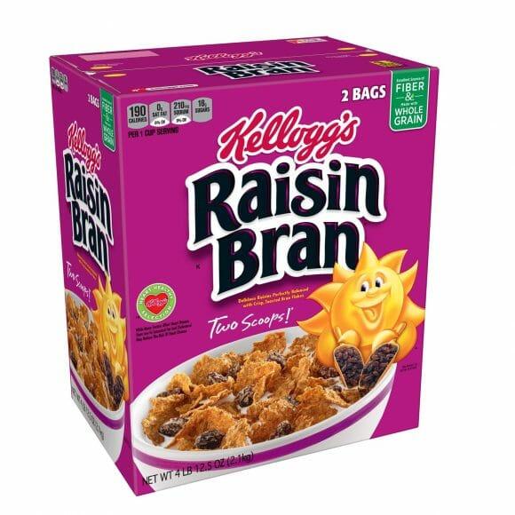 Kelloggs Raisin Bran 76.5oz