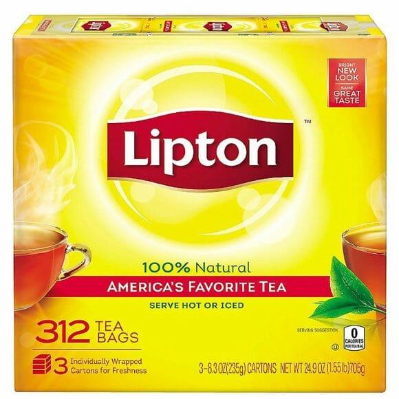 Lipton Tea Bags 312ct