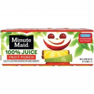 Minute Maid 100% 40/6oz Juice