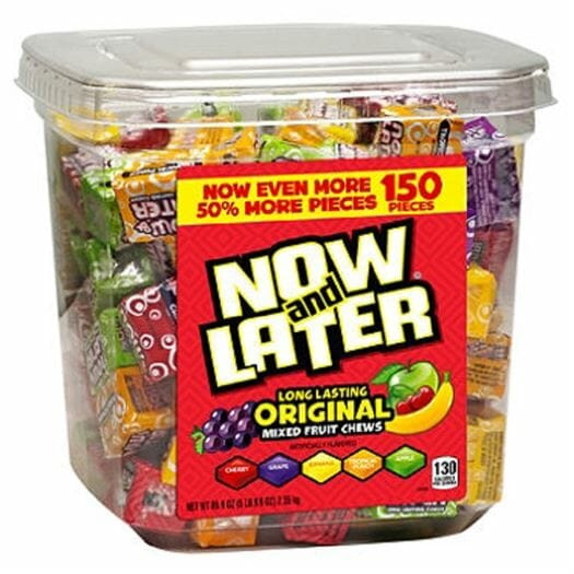 Now & Later 150ct Tub