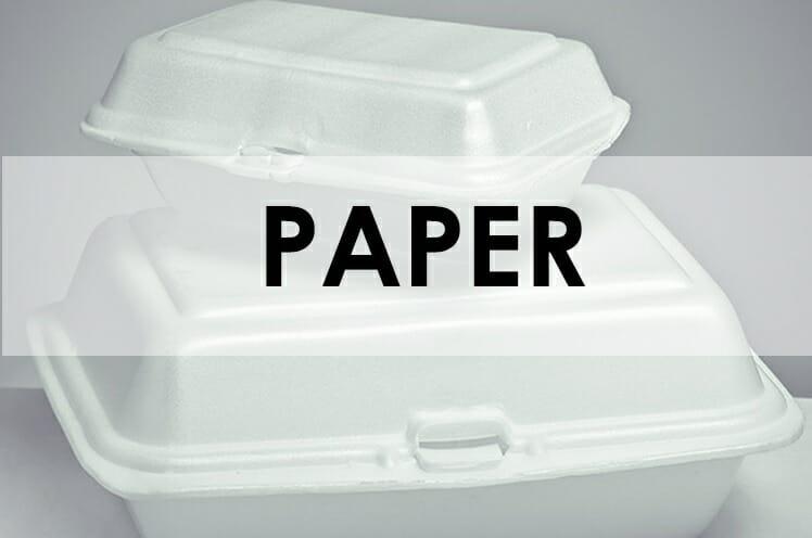 PAPER & PLASTIC