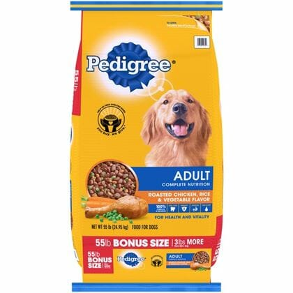 Pedigree Adult Complete 55lb