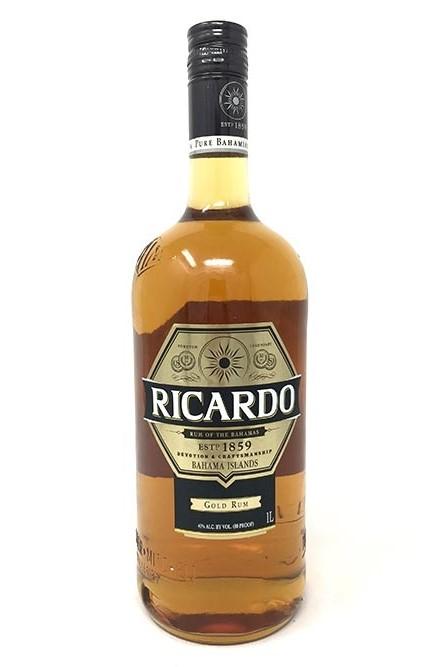 Ricardo Gold Rum Litre