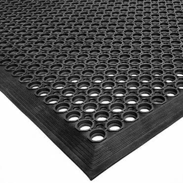 Rubber Mat 3x5 - 1/2 Black