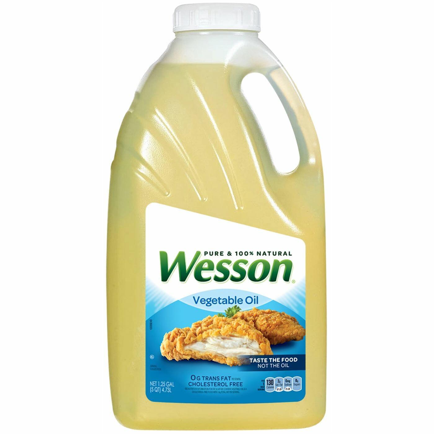 Wesson Veg Oil 5qt