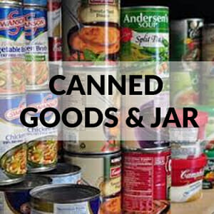 CANNED GOODS & JAR